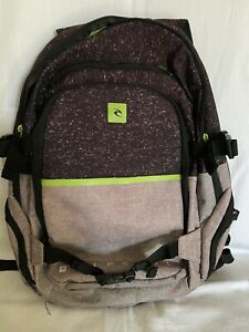 Rip Curl Teenager/Young Men's Used Backpack With Laptop Sleeve.  Model BBPJG1