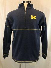 Michigan Wolverines Colosseum Half Zip Pullover Small Womens Shirt NWT NCAA