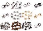 Pyramidennieten Silber, Gold, Schwarz, Antracit Pyramiden Nieten, Ziernieten