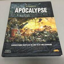 Warhammer 40,000 Apocalypse Rulebook  Brand New Unopened