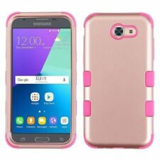 Étuis, housses et coques rose Pour Samsung Galaxy J3 en silicone, caoutchouc, gel pour téléphone mobile et assistant personnel (PDA)