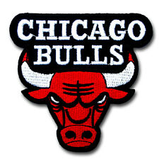 Chicago Bulls Patch Iron on Sport NBA Basketball Badge Logo Sew Biker Sticker