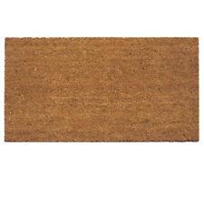 Natura | Zerbino Antiscivolo, in fibra di cocco naturale. 40x65 cm. Olivo.Shop