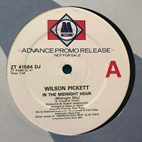 "Wilson Pickett ‎– In The Midnight Hour  1987 UK Vinyl 12""  Promo  MINT  UNPLAYED"