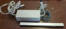 Official Nintendo Wii Power Supply Ac Adapter + Wired Sensor Bar