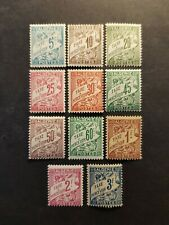 FRANCE COLONIE ALGERIE TIMBRE TAXE N°1 A 11 NEUF **/* LUXE MNH 1926 COTE 10€
