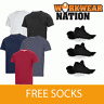 Snickers Premium 2504 Crew Neck T-shirt with MultiPockets™ FREE SOCKS