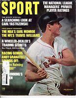 1968 (Jun.) Sport Magazine Baseball Carl Yastrzemski,Boston Red Sox~LABEL Marker