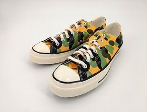 Converse 10.5 Chuck Taylor All Star 164408C Camo Print 70 Ox Unisex Sneakers