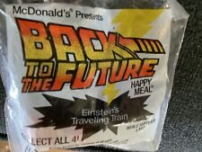 Vintage 1991 Mcdonalds Back to the future toy-N.I.B.