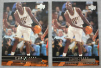 1999/00 Upper Deck Kevin Garnett  Keon Clark NBA Basketball Rare ERROR Card #213