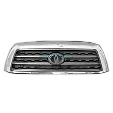 New Grille Chrome / Silver Fits 2008-2017 Toyota Sequoia 4- Door TO1200329