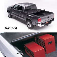 "5'7"" Bed Soft Roll Up Tonneau Cover JDMSPEED For Dodge Ram Crew 2009-2017"