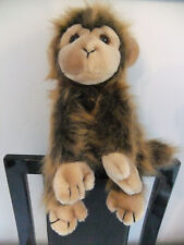 "9"" TY GINGER BROWN MONKEY APE SOFT CUDDLY TOY TEDDY BEAR NEXT ZOO CAT"