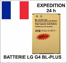 batterie BL-PLUS HAUTE CAPACITE Gold 51YF 3800 mAh pour LG G4 / H815 H818