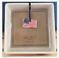 Rae Dunn by Magenta Napkin Holder 4th of July USA Flag Dated 2018 NEW Sealed