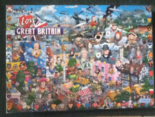 **Gibsons I Love Great Britain Jigsaw Puzzle, 1000 piece **