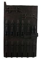 Porta Granaio di Dogon a mil Mali 64x38 cm - Persiane Box- Arte africano - 1064