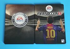 FIFA SOCCER 13 Messi SteelBook Steel Case Video Game Pre-Order PROMO