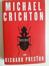 Micro by Michael Crichton and Richard Preston Hardcover Book