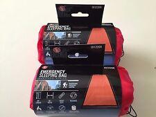 2 SE Emergency Solar Thermal Sleeping Bag - EB1220R - Heavy Duty, Draw String