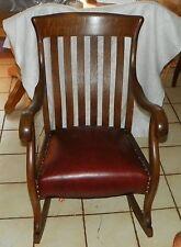 Solid Quartersawn Oak Empire Rocker / Rocking Chair (R143)