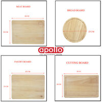 Apollo Wooden Chopping Boards Meat Bread Pastry Board Kitchen Rubber Wood Tray