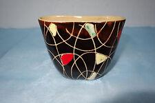 Seltene Keramik Vase, 50er Jahre,  Gebrüder Conradt, Modellnr: 415