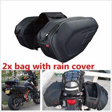 Big Capacity 36-58L Motorcycle Side Luggage Bag Waterproof Rear Seat  Sturdy