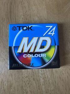 TDK 74 MD Colour Recordable Minidisc