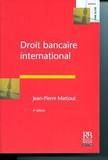 Droit bancaire international