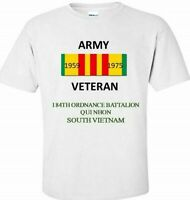 184TH ORDNANCE BATTALION * SOUTH VIETNAM * VIETNAM VETERAN RIBBON SHIRT/SWEAT