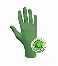 Showa 6110PFL Biodegradable Disposable Nitrile Gloves Large Box of 100