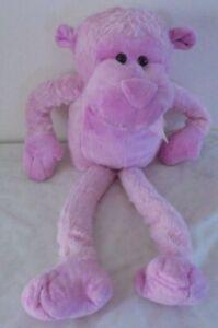 Pink Monkey  PMS Plush Childrens Toy very long legs