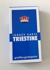 New Croatian Briscola Briškula Triestine playing Card Game