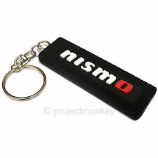 Nismo KWA10-50B10 Rubber Key Chain Keychain Black Genuine Official Goods JDM
