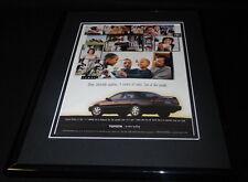 1999 Toyota Camry Framed 11x14 ORIGINAL Vintage Advertisement
