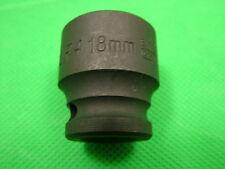 Douille impact 18mm 1cm embout carré, Hexagonal Simple, chrome vanadium acier