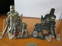 Master at Arms K9 Handler Navy SEALS MA CPO USN Warrior Knight Challenge Coin