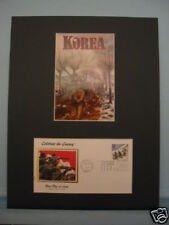 Honoring Korean War Veterans & First Day Cover