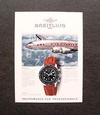 [GCG] L288- Advertising Pubblicità -1998- BREITLING , AVIASTAR