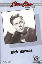 DICK HAYMES Greatest Hits cassette tape 1940s Pretty Kitty Blue Surrey w/ Fringe