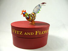 "Fritz & Floyd/ Rooster/2003/New in Box/ 43/103 Made/4"" Tall"