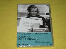 LA DONNA DELLA MONTAGNA DVD DI RENATO CASTELLANI CON AMEDEO NAZZARI