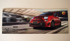 Fiat . 595 . Abarth 595 Competizione 180hp . April 2015 Sales Leaflet