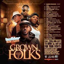 DJ ANT LO GROWN FOLKS SOUL & R&B CLASSICS MIX CD VOL 2