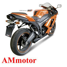 Mivv Kawasaki ZX-6 R 2007 07 Terminale Di Scarico Marmitta Suono Inox Moto