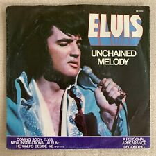 """Elvis """"Unchained Melody"""" PB-11212 1978 ORIG. Pic Slv & 45"""