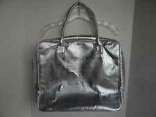 TOMMY HILFIGER Authentic Hand-SIGNED Dreaming Metallic-silver Bag / Purse