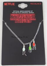 New Netflix Original Series Stranger Things Run String Lights Charm Necklace